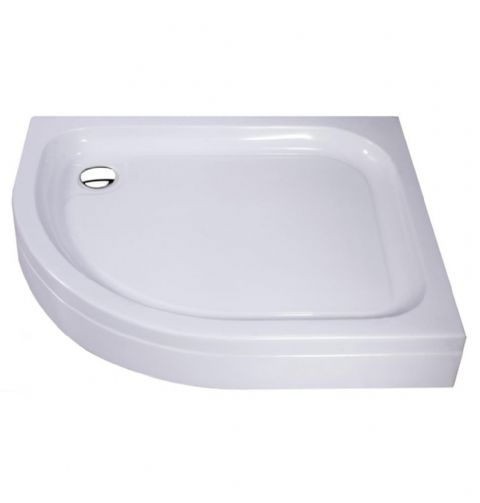 G Classic Anti-Slip Traditional Quadrant Stone Resin Deep Shower Tray 800mm x 800mm
